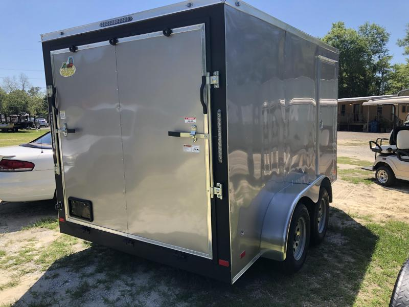 2021 Covered Wagon Trailers 7x12TA Goldmine Enclosed Cargo Trailer
