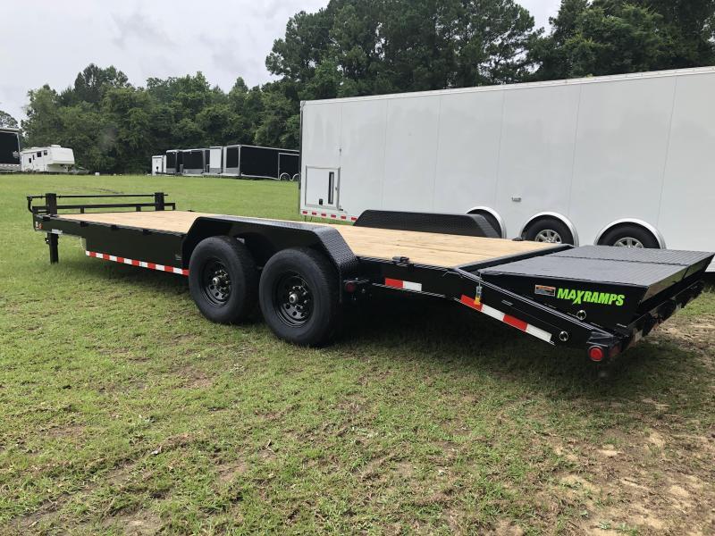 "2020 Load Trail 83""x24' Carhauler w/ MAX RAMPS Equipment Trailer"
