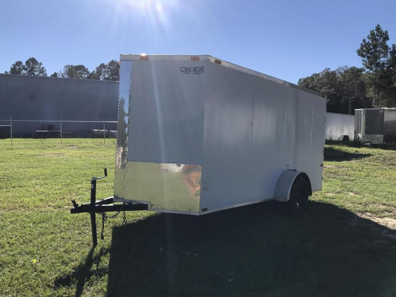 2021 Cenergy 6x12SA Enclosed Cargo Trailer