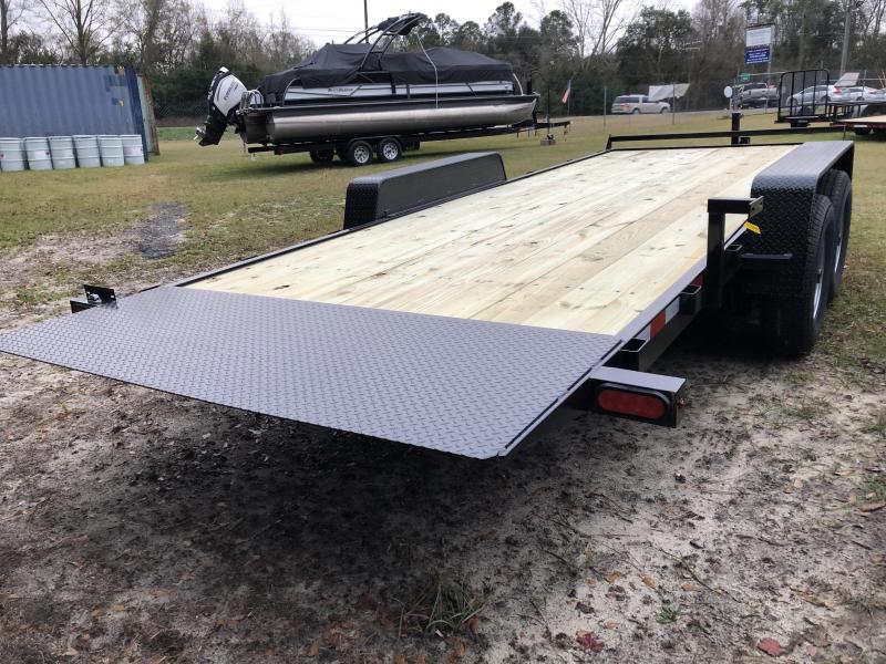 2021 Down 2 Earth Trailers 82x20 14k FULL GRAVITY TILT Trailer