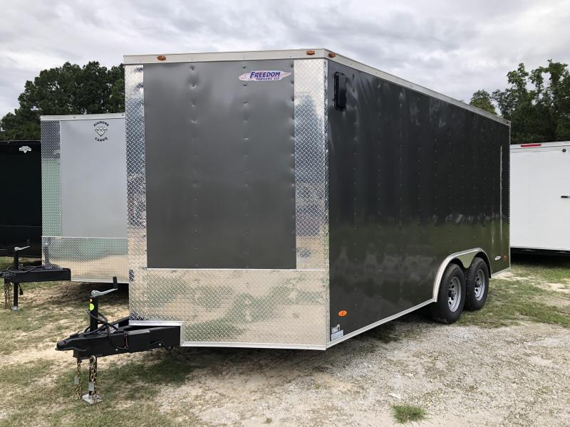 2021 Freedom Trailers 8.5X16TA3 10K Enclosed Cargo Trailer