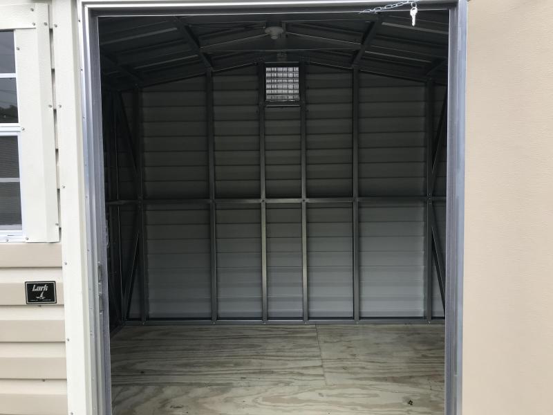 2021 Lark 8x10 Metal Building