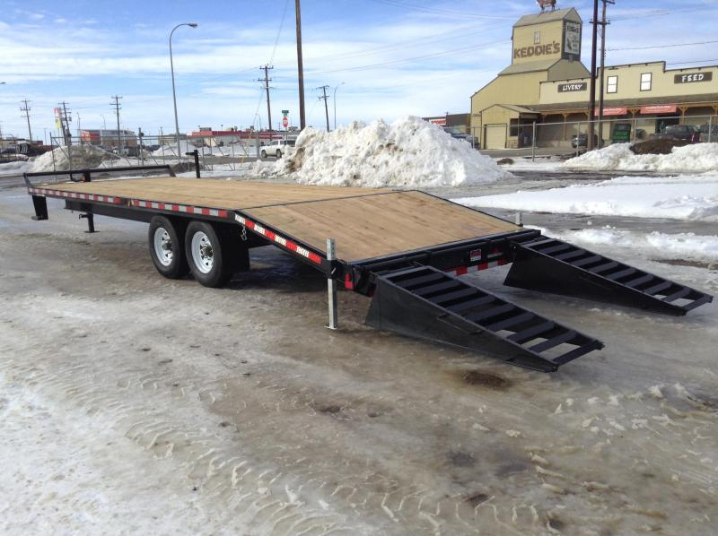 2021 Canada Trailers SD25-14K Equipment Trailer