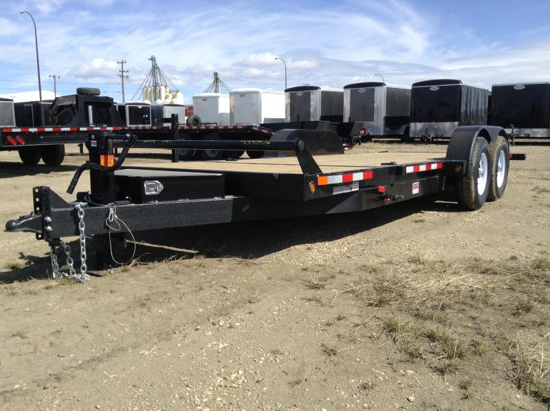 2021 Canada Trailers TL721-14K 3/4 CUSHION TILT Equipment Trailer
