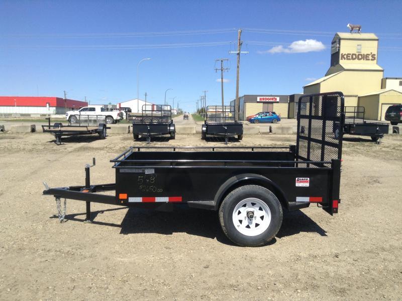 2021 Canada Trailers UT58-3K Utility Trailer