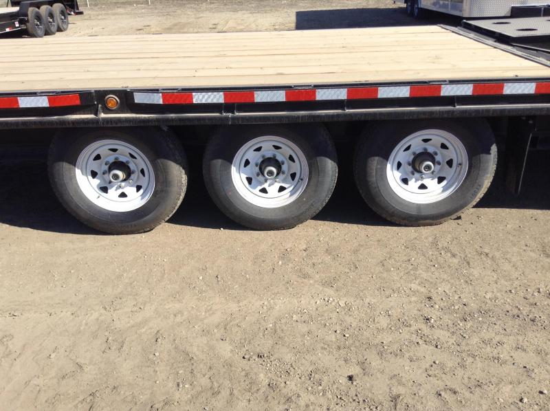 2020 Canada Trailers 25FT 3X7K DECKOVER Equipment Trailer