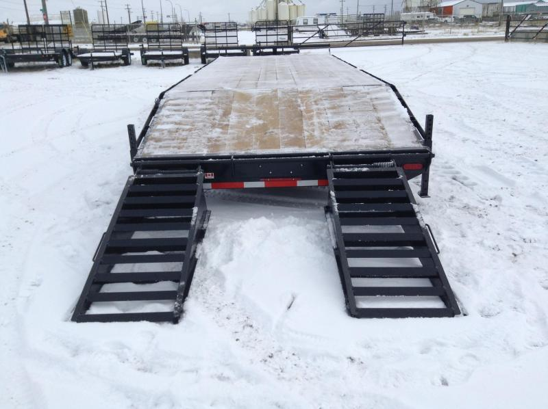 2021 Canada Trailers 25FT 3X7K DECKOVER Equipment Trailer