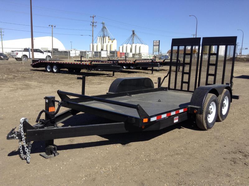 2021 Canada Trailers SL714-14K Equipment Trailer