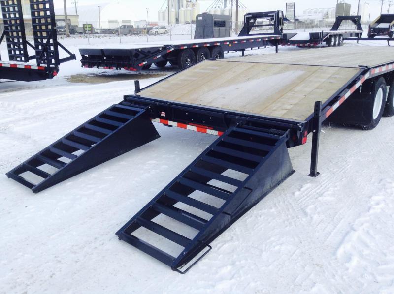 2021 Canada Trailers BT25-24KD Equipment Trailer
