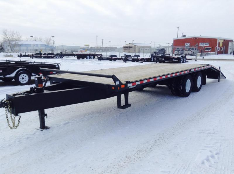 2021 Canada Trailers BT25-24KD Equipment Trailer