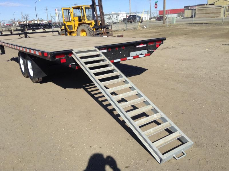 2021 Canada Trailers 20FT Equipment Trailer