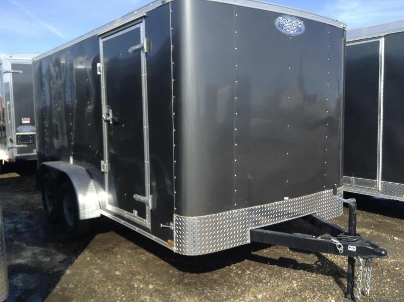 2020 7' x 14' Enclosed Cargo Trailer w/ Ramp