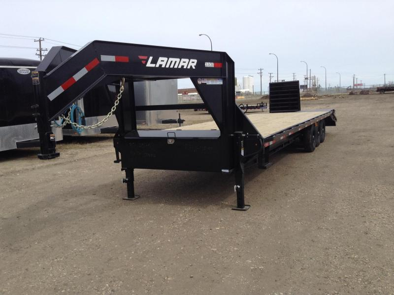 2021 Lamar 30' Triple Axle Gooseneck Trailer