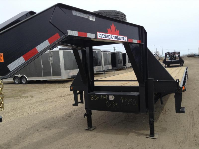 2020 Canada Trailers GN 2X12K Equipment Trailer