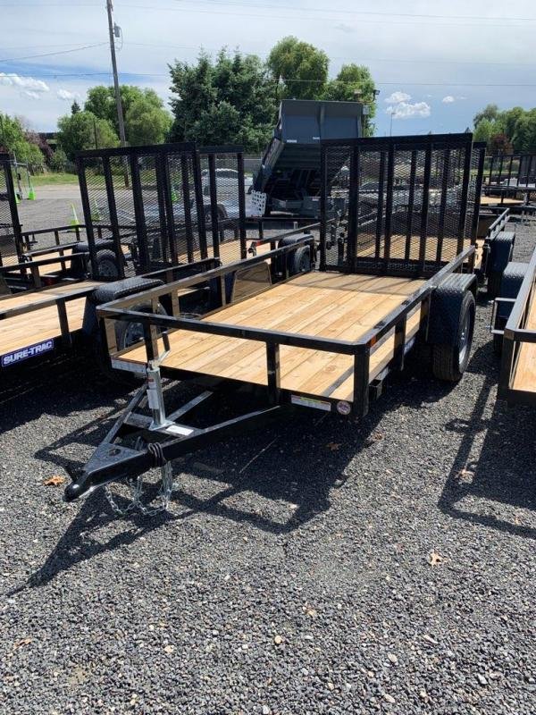 2021 Sure-Trac 5x10 Tube Top Utility Trailer 3K
