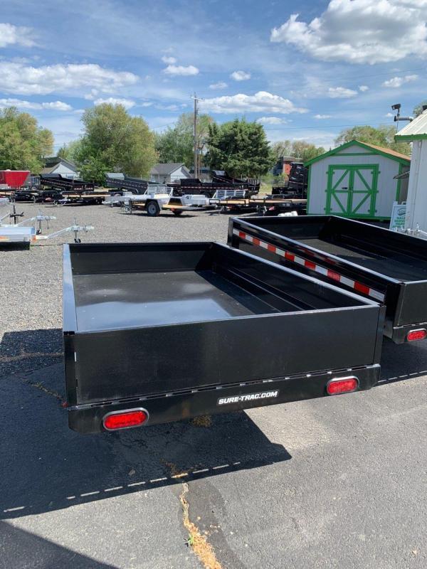 2021 Sure-Trac 4.5x8ft Utility Dump Trailer