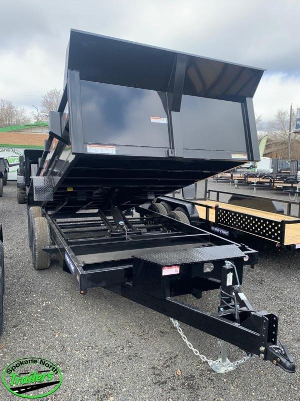 2021 Sure-Trac 7x14 HD Low Profile Dump Trailer