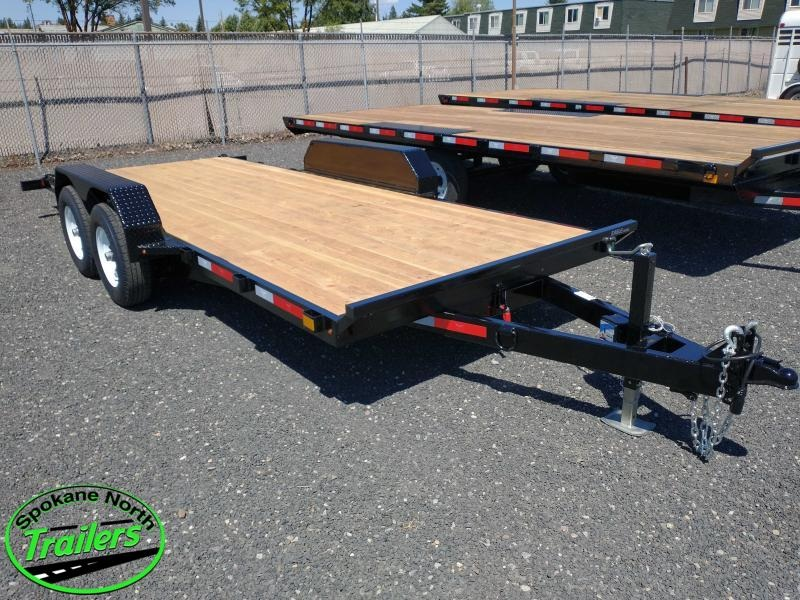 2021 Eagle Trailer 7x18 Eagle Auto/Equipment TILT 10k
