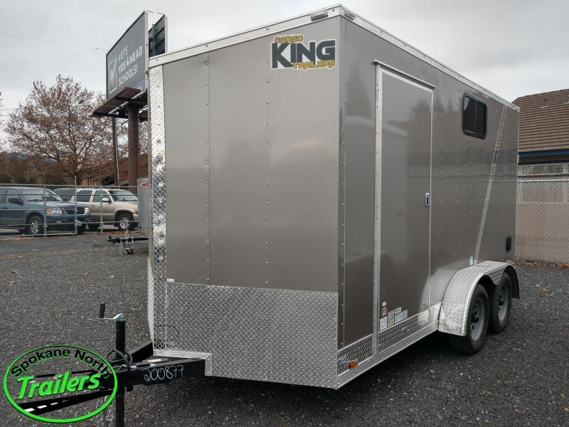 2021 Cargo King Nomad 7x14 Enclosed Cargo Trailer
