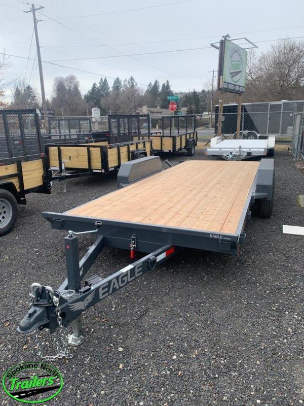 2021 Eagle Trailer 7x20 Eagle Auto/Equipment TILT 10k