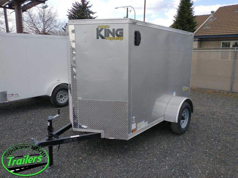2021 Cargo King by Forest River Nomad 5x8 Enclosed Cargo Trailer