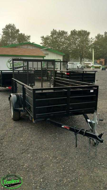 USED 2018 Mirage 5X8 Landscape Utility Trailer