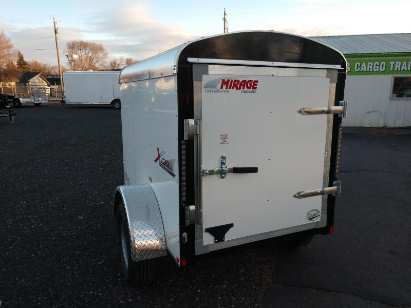 2021 Mirage Xcel 4x6 Single Axle Cargo Trailer