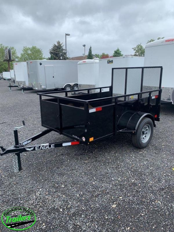 2020 Eagle Trailer Falcon 5x8 Landscape Utility Trailer