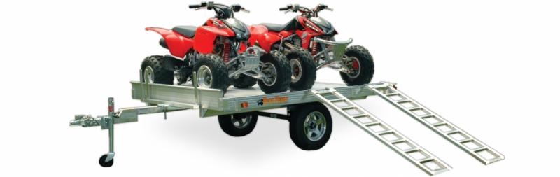 2021 Bear Track Products BTX 7X14 ATV Trailer