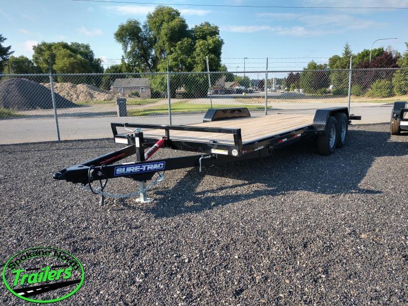 2020 Sure-Trac 7x20 Tilt Bed Car Hauler  10k