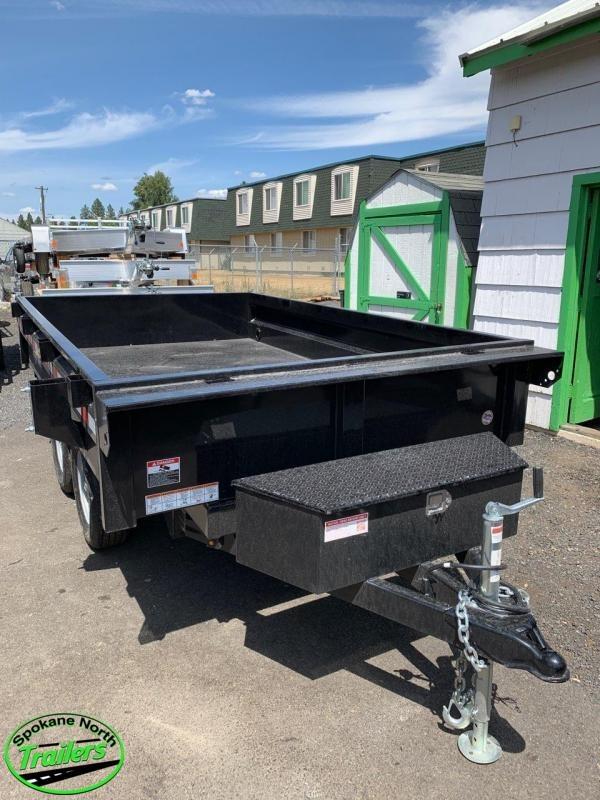 2021 Sure-Trac 6X10 SD Deckover Dump Trailer 7K