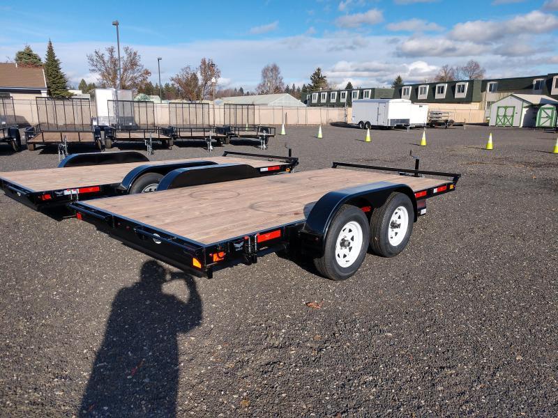 2020 Eagle Trailer 7x14 Eagle Auto/Equipment 7k Flatbed