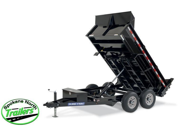 2021 Sure-Trac 6x12 LProfile 10K Single Ram Dump