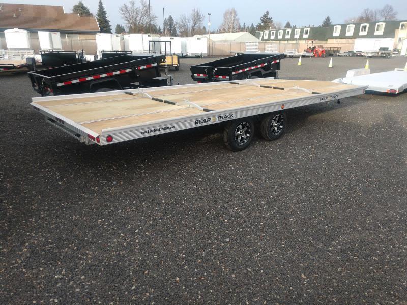 2021 Bear Track 8X20 Snowmobile Trailer
