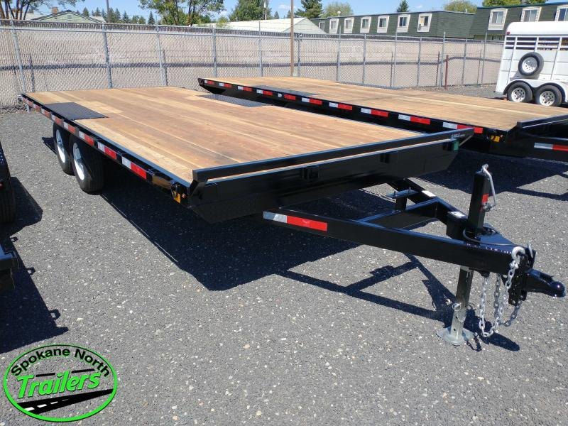 2021 Eagle Trailer 8.5x20 Eagle 10K Equipment Deckover