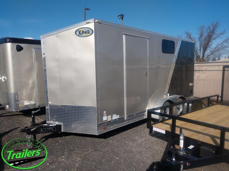 2021 Cargo King Nomad 7x16 Cargo Trailer w/ UTV Pkg