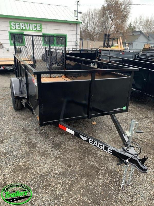 2020 Eagle Trailer Falcon 5x10 Landscape Utility Trailer