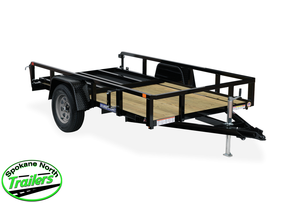 2021 Sure-Trac 7x12 Tube Top Utility Trailer 3.5K