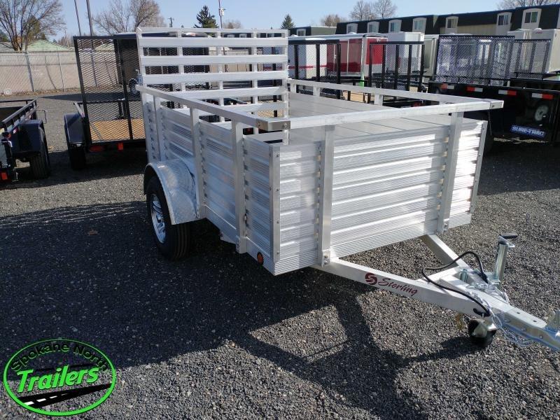 2021 Eagle Trailer Aluminum 5x8 Utility Trailer