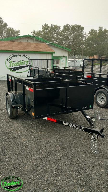 2021 Eagle Trailer Falcon Lightspeed 5x8 Landscape Utility Trailer