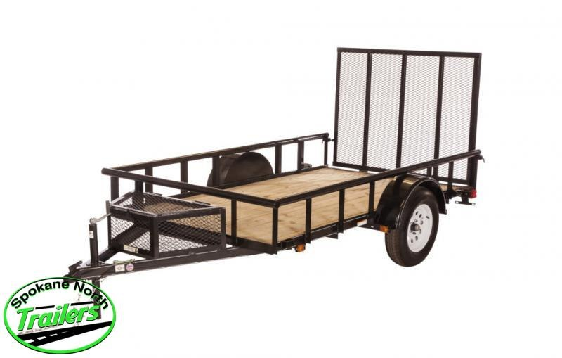 Used 2019 Carry-On 5.5X10 Pipe Top Utility Trailer