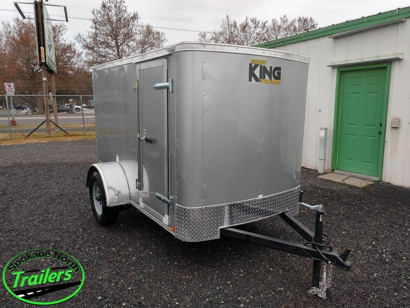 2021 Cargo King Lancer 5x8 Enclosed Cargo Trailer