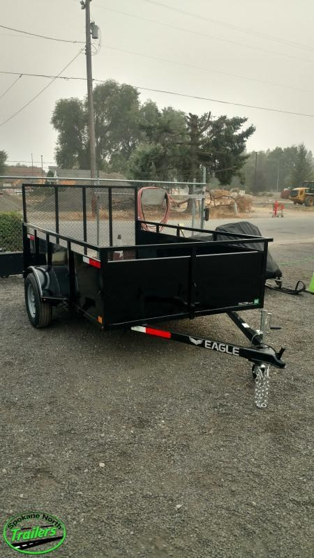 2020 Eagle Trailer Falcon 6x10 Landscape Utility Trailer