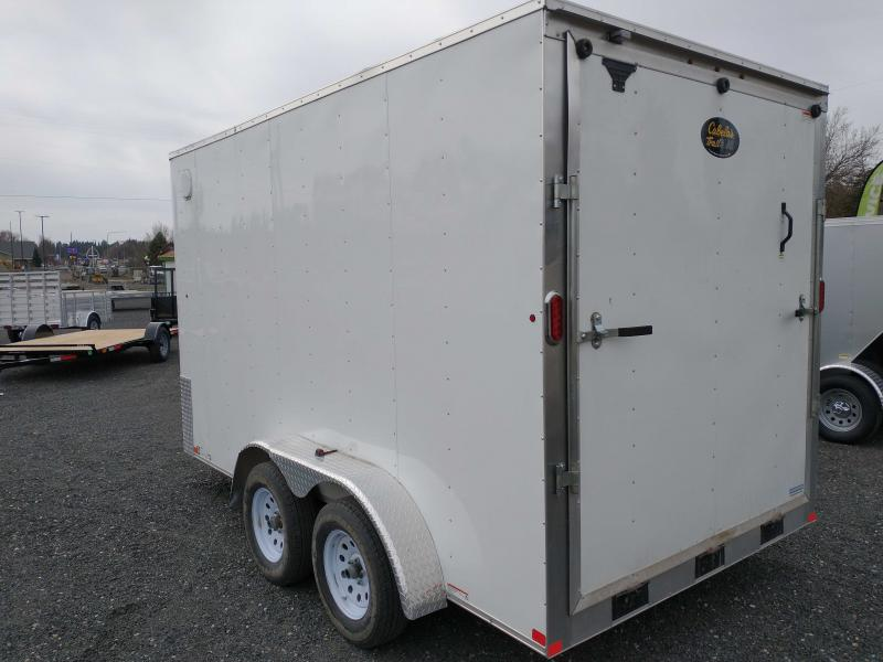 2018 USED  7X14  Cargo / Enclosed Trailer