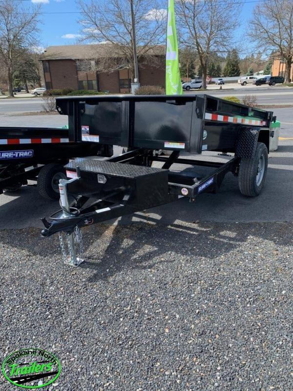 2021 Sure-Trac 5x8 Low Profile Homeowner Dump Trailer