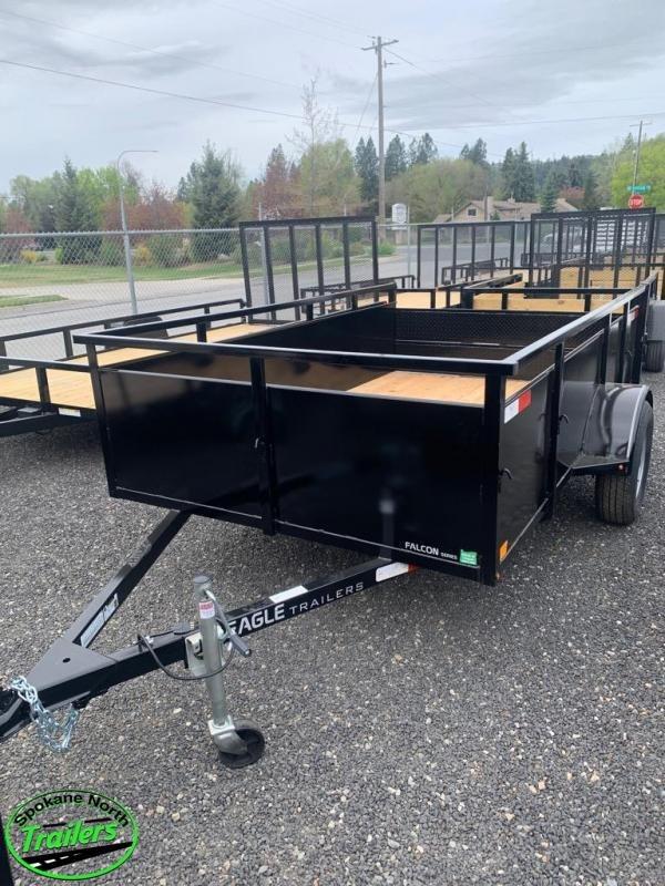 2021 Eagle Trailer Falcon Lightspeed 6x10 Landscape Utility Trailer