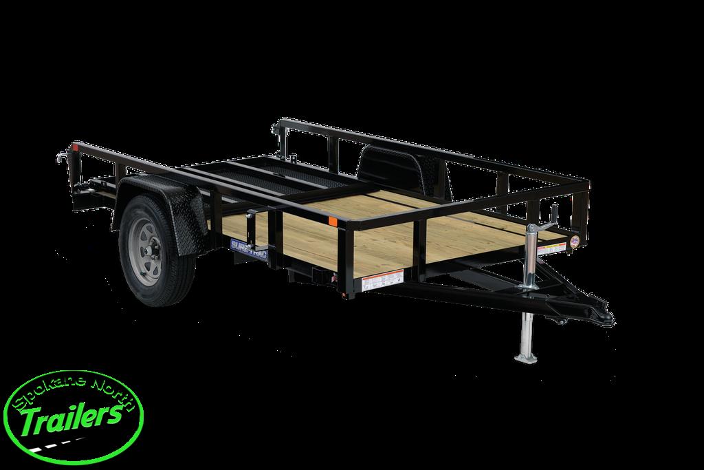 2021 Sure-Trac 7x12 Tube Top Utility Trailer 5K