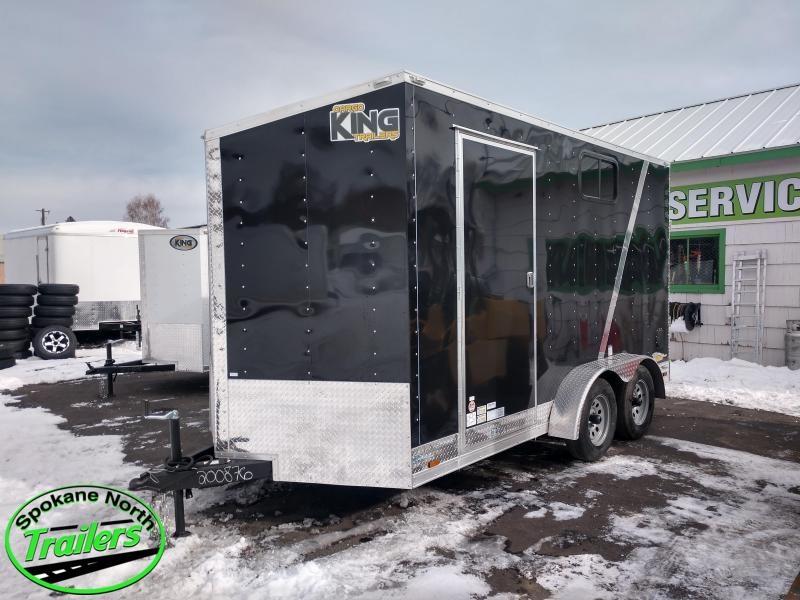 2021 Cargo King Nomad 7x14 Enclosed Cargo Trailer
