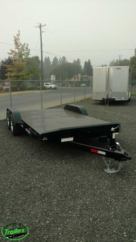2021 Sure-Trac 7x18 Steel Deck 10K Car Hauler