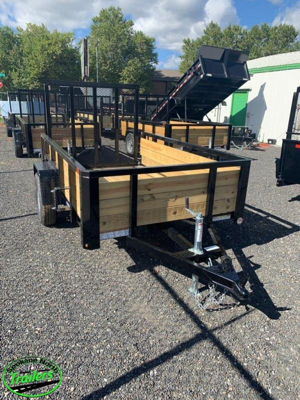 2021 Sure-Trac 5x8 Tube Top Three Board Trailer  3K